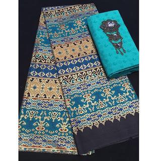 Kain Batik Primis dan Embos 271 toska