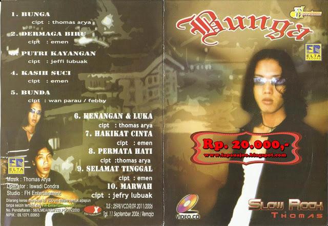 Thomas Arya - Bunga (Album Slowrock)