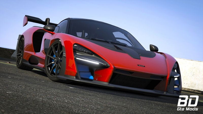 Download mod carro esportivo McLaren Senna 2019 para GTA V