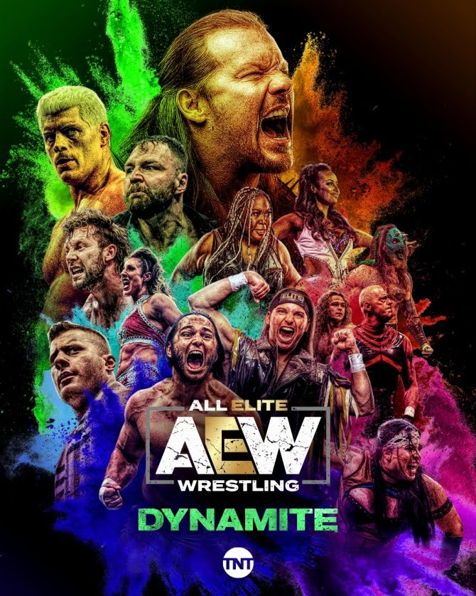 AEW Dynamite (22 April 2020) English 300MB HDTV 480p
