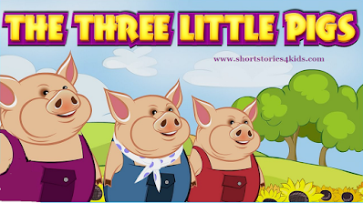 The Three Little Pigs Short Story with Pictures and PDF