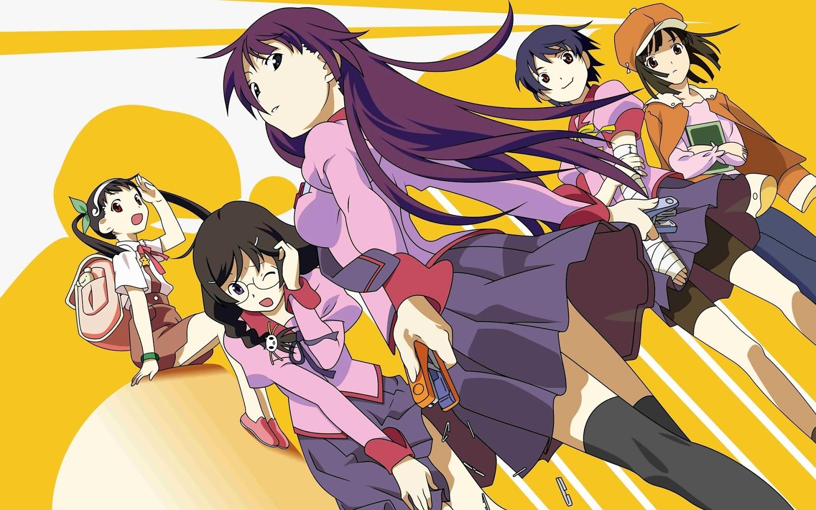 "urutan season anime ""MONOGATARI SERIES"" - Anime Time"