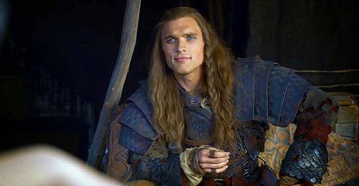 Ed Skrein în Game Of Thrones (Daario Naharis)