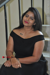 Telugu Actress Swathi Reddy Latest Stills in Black Gown  0070.JPG
