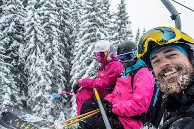 Hilft ein Bart gegen die Kälte beim Skifahren