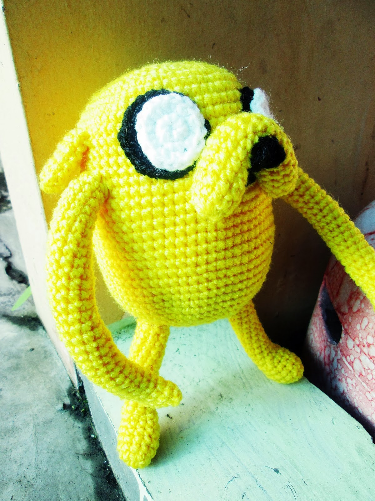 Jake the Dog Amigurumi Tutorial - Amirald - YouTube | 1600x1200