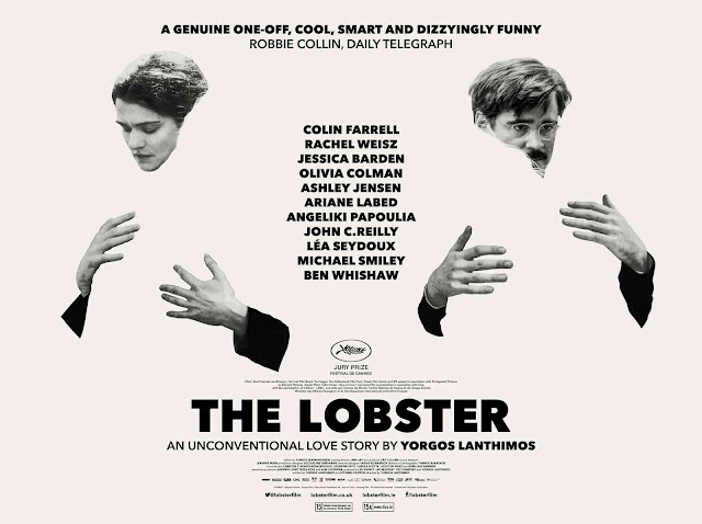 Cartel promocional de la película La langosta - The Lobster