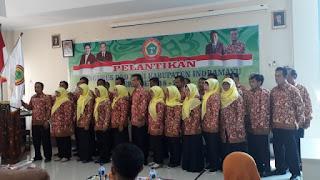 Pelantikan PPNI DPD Indramayu