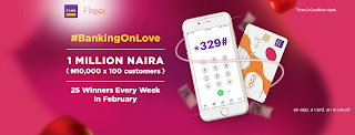 Are you #BankingOnLove this February? You better be. FCMB's giving away one million naira to make Valentine's extra special