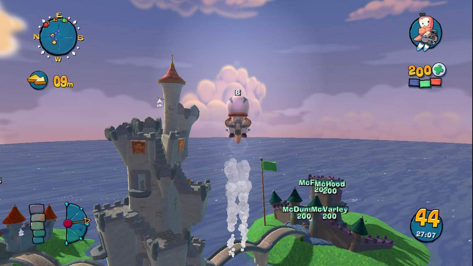 تحميل لعبة Worms 4 Ultimate Mayhem مضغوطة برابط واحد مباشر كاملة مجانا