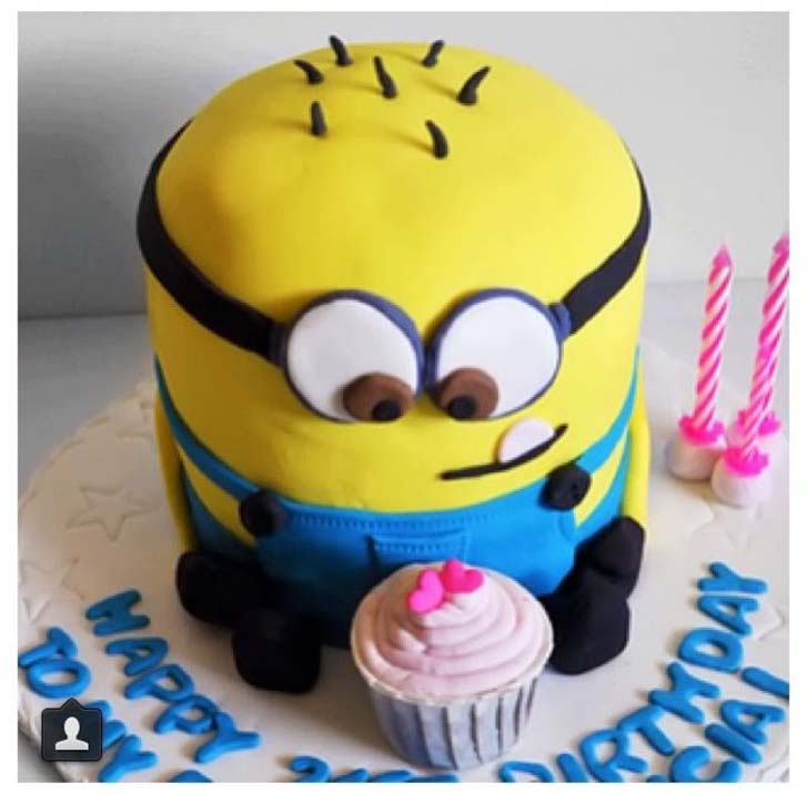 Brilliant Various Minion Birthday Cake Design Ideas Funny Birthday Cards Online Eattedamsfinfo