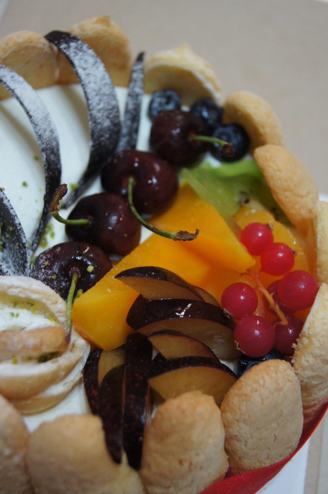 棒棒糖手工點心: 網友SallyQ推薦--驚艷水果蛋糕&提拉米蘇