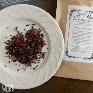 Cranberry Cider Herbal Loose Leaf Tea