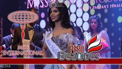 Nidhishwaree Ruchpaul es Miss International Mauritius 2018 / 2019
