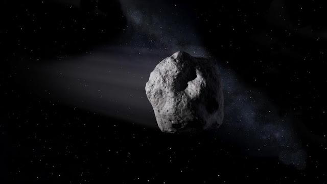 Un asteroide del tamaño de un autobús se acerca a toda velocidad
