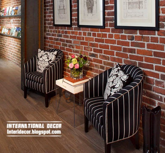 brick wall designs, Bricks, interior brick wall