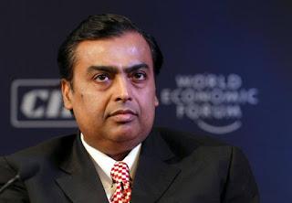 Tỷ phú Ấn Độ Mukesh Ambani