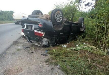 Pretty Female Candidate Involved In Accident On Abuja Road