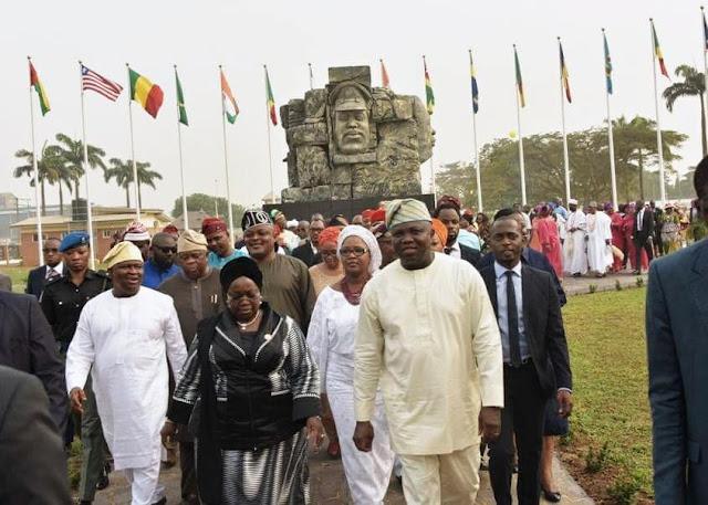 Lagos Gov, Mr. Akinwunmi Ambode Unveils JJT Modern Recreation Park