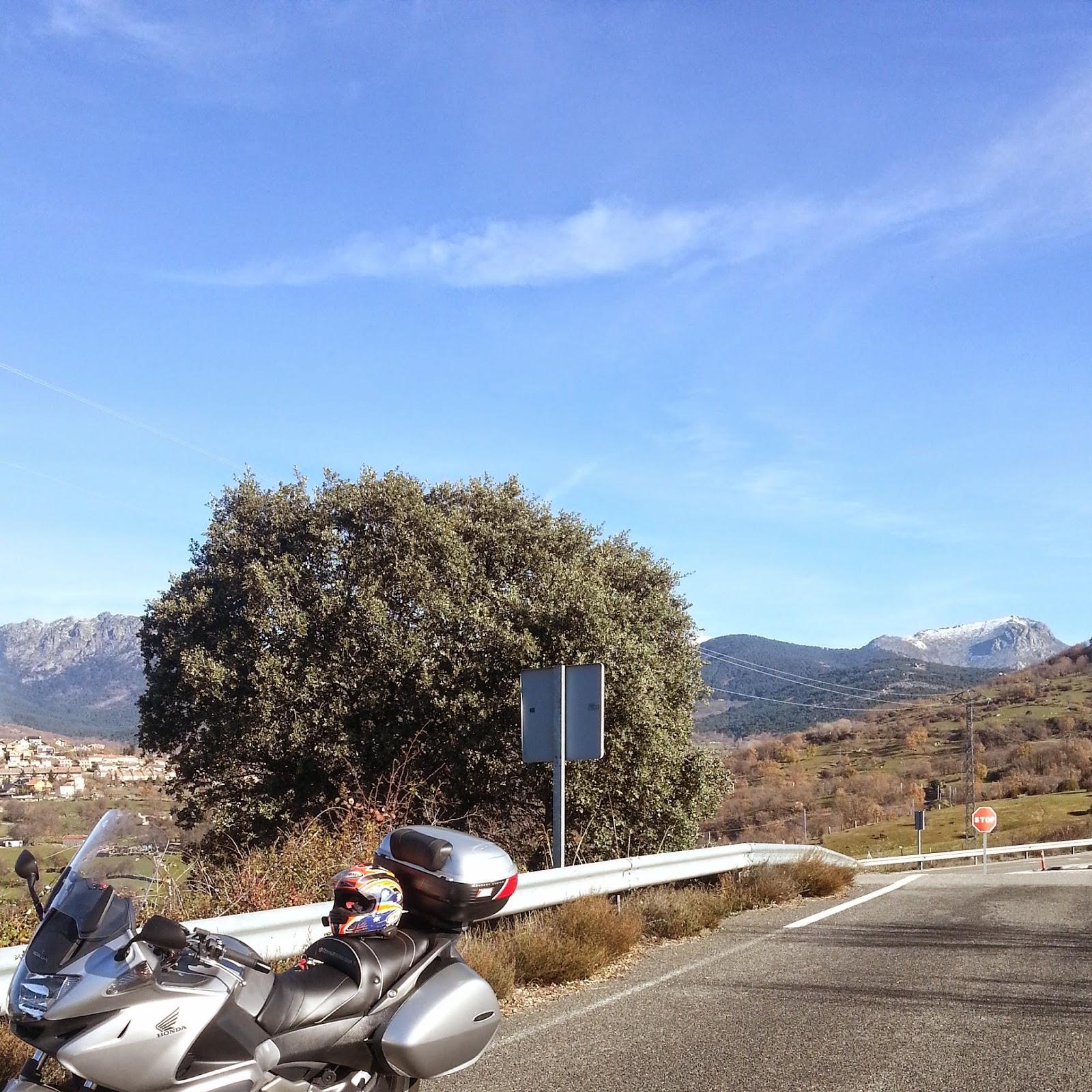RUTA EN MOTO 313 Km POR SEPULVEDA