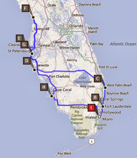 Rundreise 2 Wochen Florida