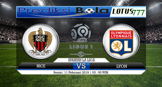 Prediksi Nice vs Lyon 11 Februari 2019