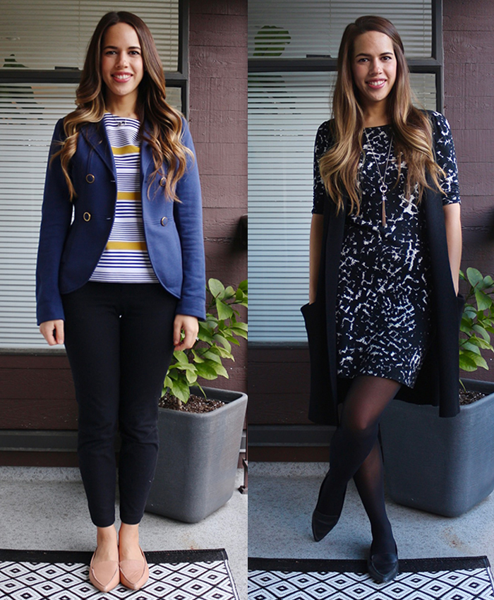 Jules in Flats - February Outfits