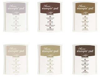 Neutrals Classic Stampin' Pads, Stampin' Up!