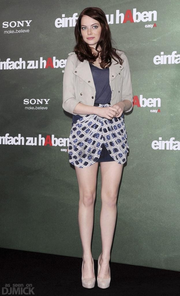 Underwear Models Emma Stone