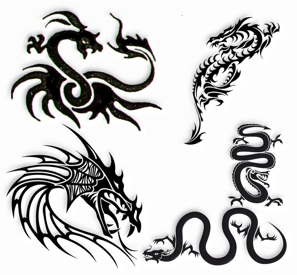 Tatuaż Wzory Tatuaży Smoki
