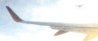 Que susto! Viral de drone quebrando asa de avião é falso