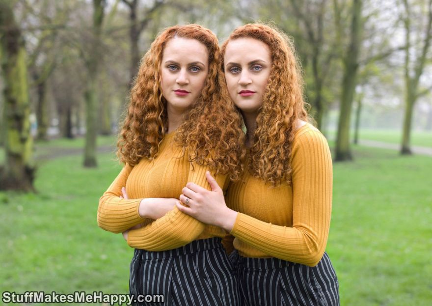 Twins Photography in the Project 'Alike But Not Alike' by Peter Zelewski