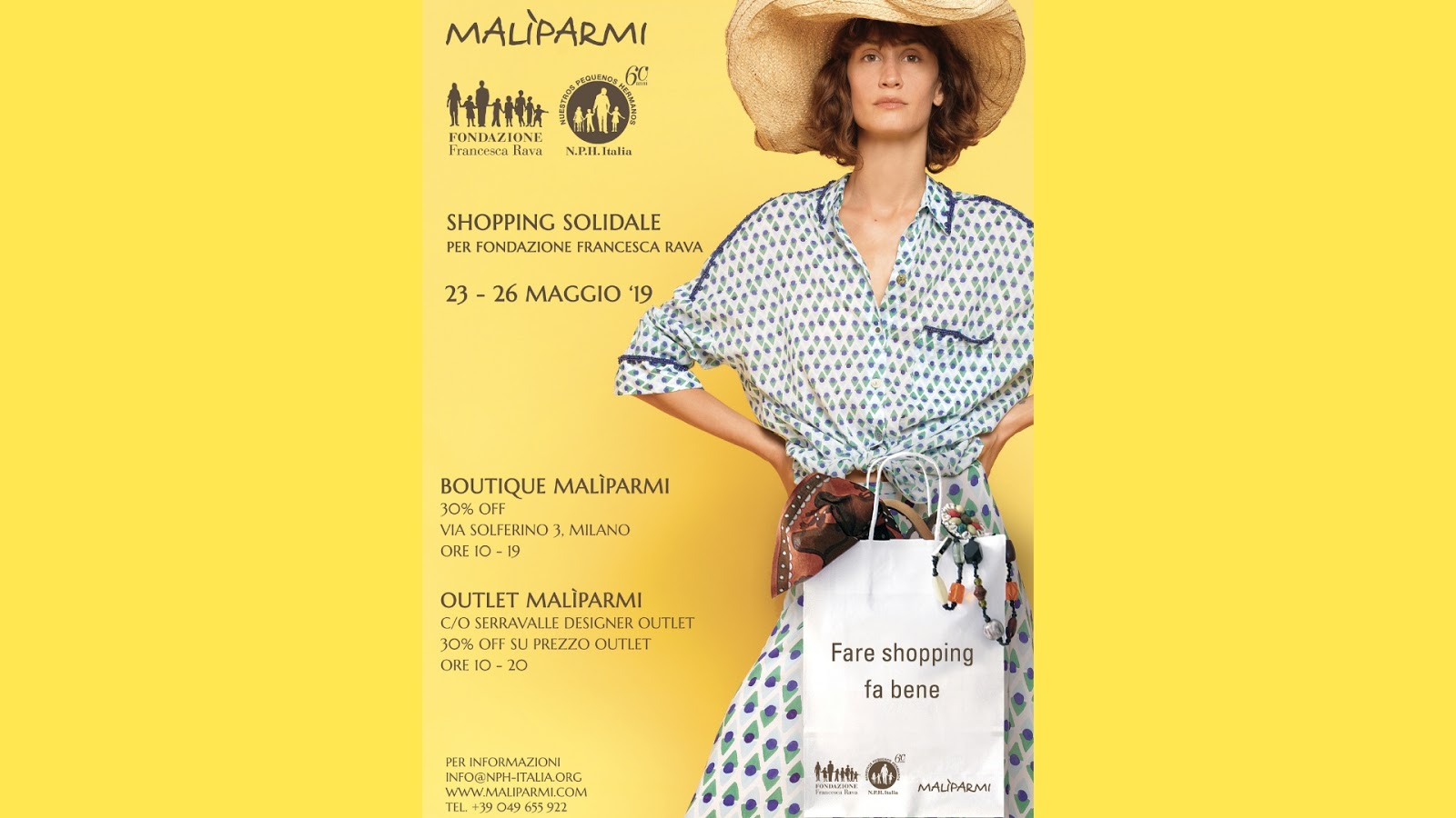#FareShoppingFaBene: la vendita di Malìparmi per la Fondazione Francesca Rava, Valentina Rago, fashion need, fashion blog milano
