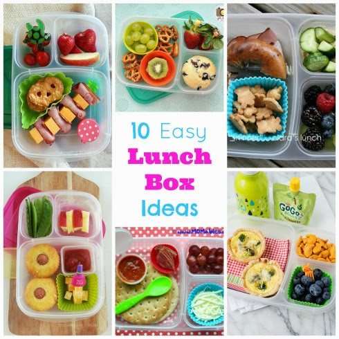 http://happyhomefairy.com/2013/09/09/10-easy-lunch-box-ideas/