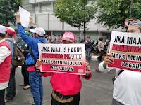 Sidang PK Ahok, Ormas Islam Turun ke Jalan
