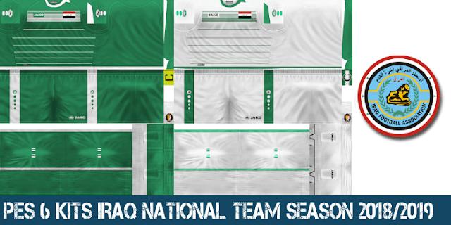 PES 6 Kits Iraq National Team Season 2018/2019