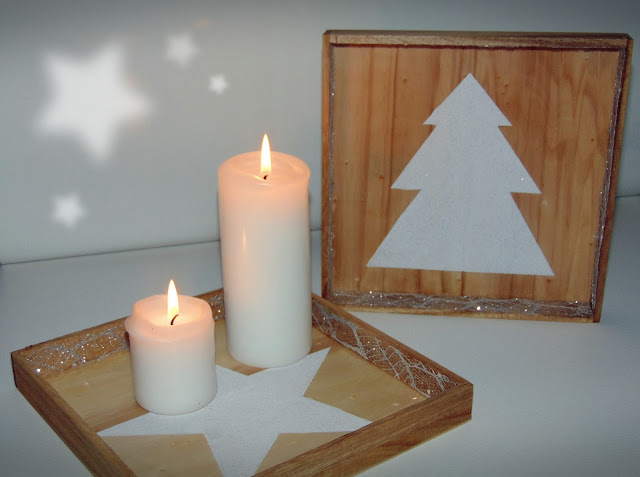 Minimalistyczne podstawki pod świeczki DIY