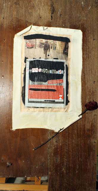 Kris Kind 2009, Geldanlage Zwangsprostitution, 117 x 60cm