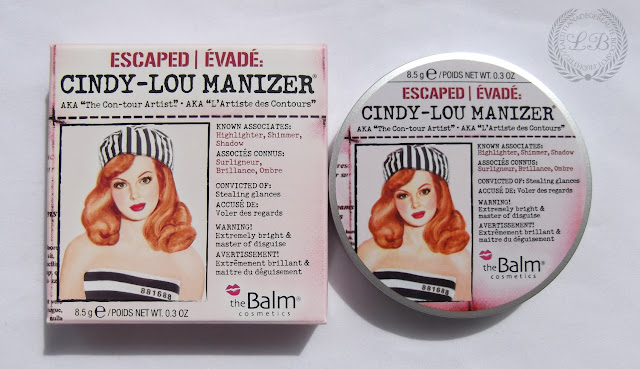THEBALM COSMETICS - Cindy-Lou Manizer AKA The Con-tour Artist.