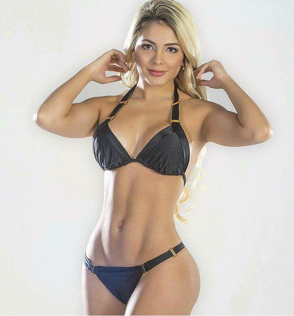 Paola Usme fitness model