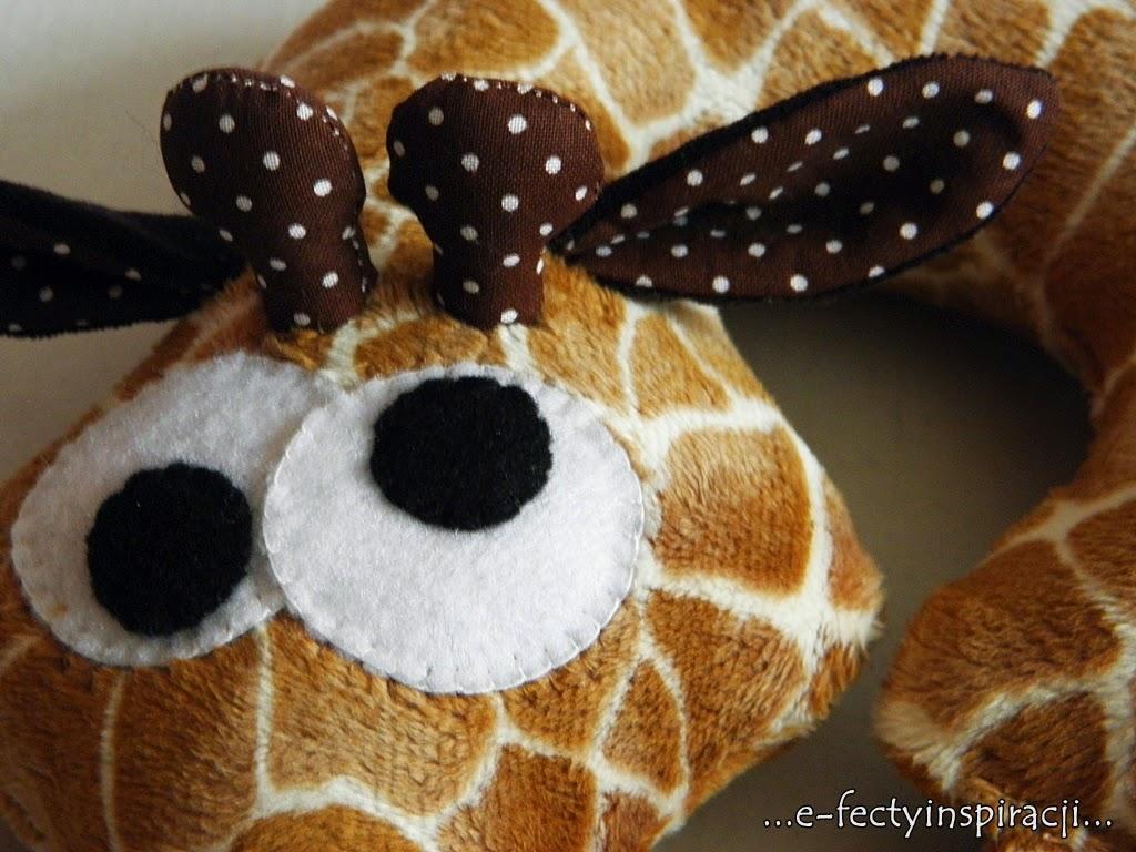 żyrafa minky
