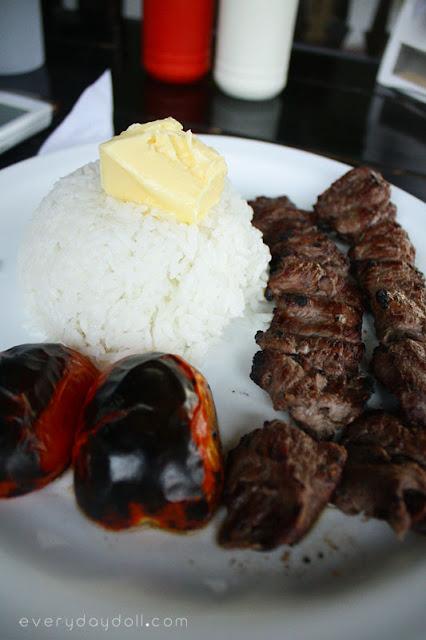 Persian Dish Kabab