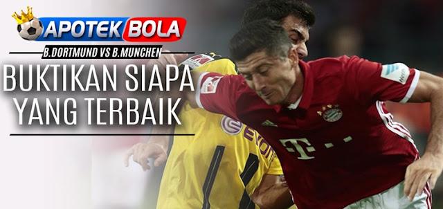 Prediksi Borussia Dortmund vs Bayern Munchen 20 November 2016