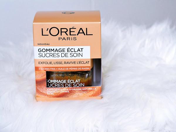 Gommage Eclat Sucres de Soin de L'Oréal