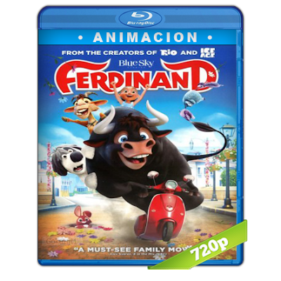 Ole El Viaje De Ferdinand (2017) BRRip 720p Audio Trial Latino-Castellano-Ingles 5.1