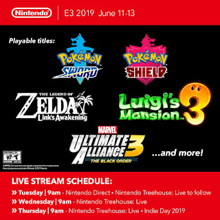 Nintendo Continues Its Countdown to E3 2019