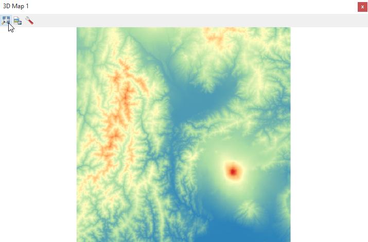 Digital Elevation Model (DEM) 3D Visualization in QGIS