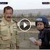 شاهد | سقوط قذيفة هاون بالقرب من مذيعة الجزيرة سلمى الجمل خلال تغطية معركة الموصل
