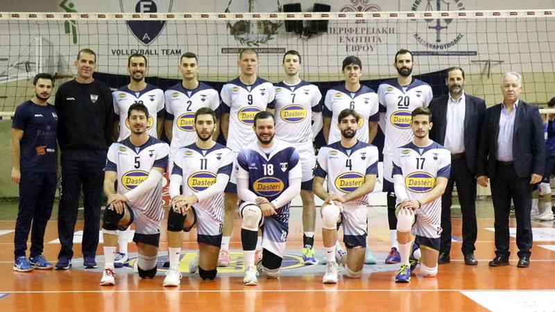 Ο Εθνικός Αλεξανδρούπολης νίκησε 3-0 την Κομοτηνή και παρέμεινε στην Volley League