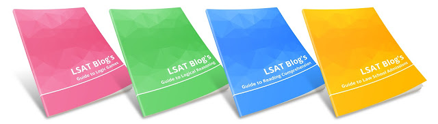 LSAT Blog Guides Covers